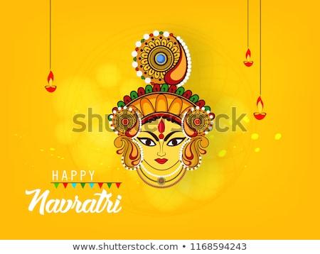 creative happy dussehra festival greeting design background Stock photo © SArts