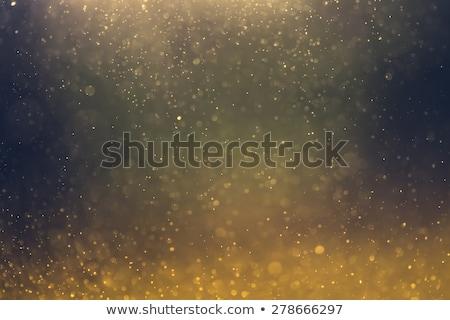 Preto dourado partículas brilho projeto abstrato Foto stock © SArts