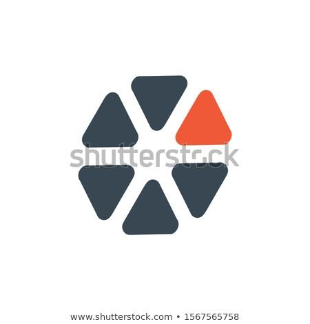 Círculo abstrato logotipo corporativo projeto um Foto stock © kyryloff