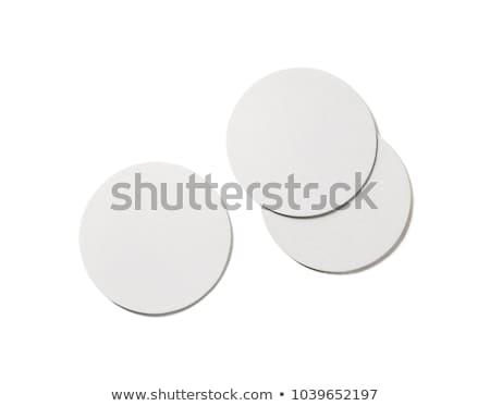 Blank coasters template Stock photo © montego