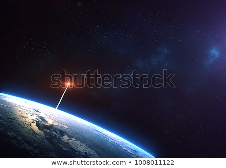 missile in the space Stock photo © adrenalina