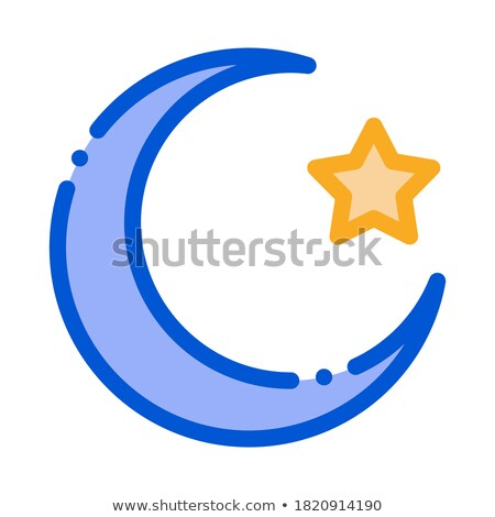 special lunar year of hajj icon vector outline illustration Stock photo © pikepicture