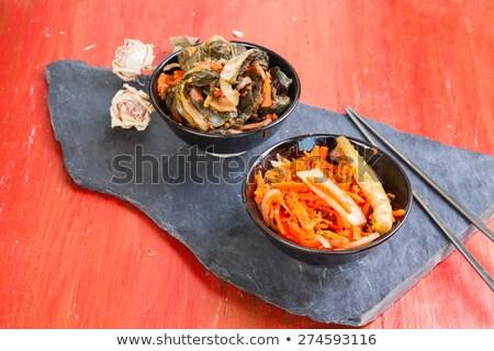 кегли · продовольствие · рынке · металл · полный · различный - Сток-фото © eh-point
