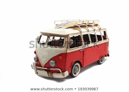 antieke · auto · wrijfhout · wielen · klassiek · stijl - stockfoto © morrbyte