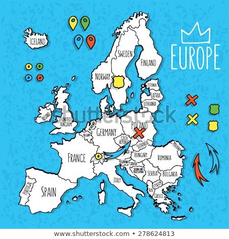 Moldavia · viaje · mapa · negocios · diseno - foto stock © speedfighter