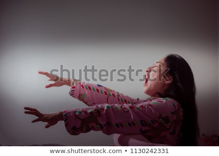 Sleepwalking woman Stock photo © Ariwasabi
