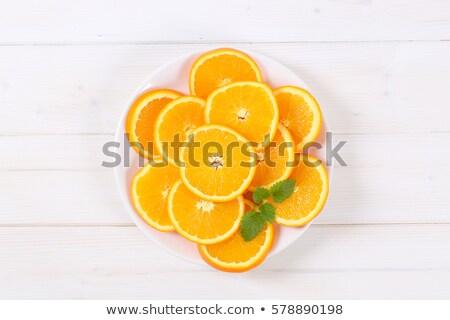 fatias · abstrato · toranja · laranja · limão - foto stock © frank11