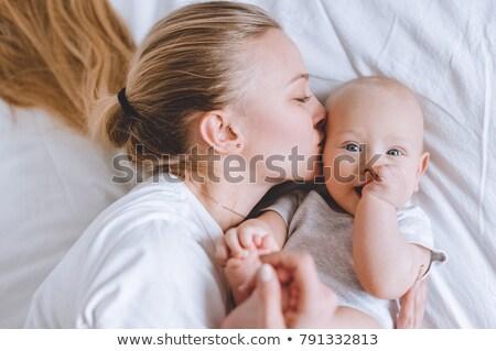 adorabile · madre · bacio · bambino · amato - foto d'archivio © dashapetrenko