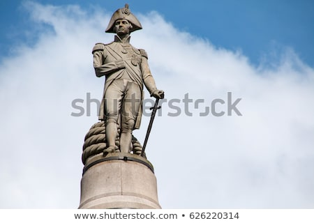 Admiral Nelson statue in London Stock photo © dutourdumonde