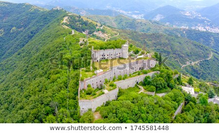 Sperone fortress, Genova Stock photo © Antonio-S