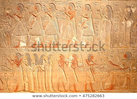 village detail in egypt stock photo © prill