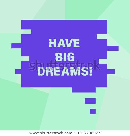 toekomst · dromen · doelen · woordwolk · vintage · Blackboard - stockfoto © stuartmiles