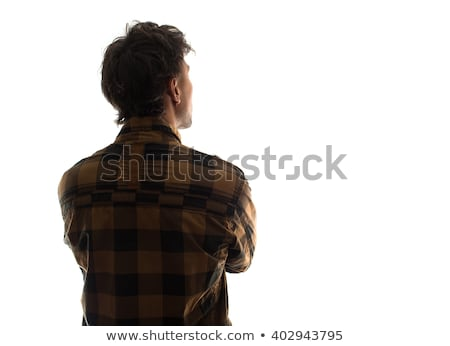 back of head stock photo © hyrons