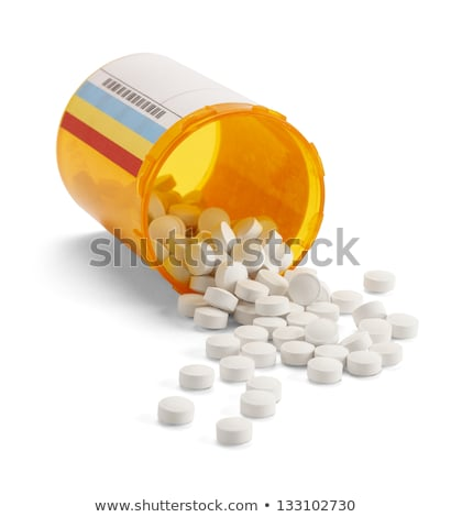 RX Prescription Drugs Pill Bottle Stock photo © Lightsource