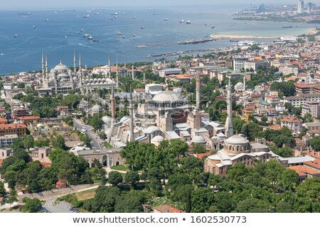 Istanbul View on Hagia Sophia Stock photo © Bertl123