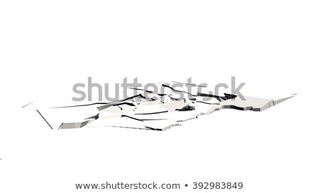 Earthquake cracked ground floor Stock photo © Lightsource