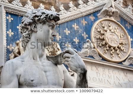 David Statue of Michelangelo, Florence, Tuscany, Italy Stock photo © Bertl123