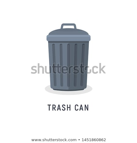 how to draw a cartoon trash can
