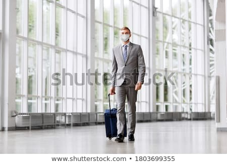 businessman and airport Stock photo © ssuaphoto