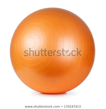 ребенка · девочку · спортзал · аэробика · мяча - Сток-фото © macsim