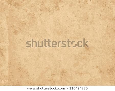 öreg sötét barna papír textúra háttér retro Stock fotó © tarczas