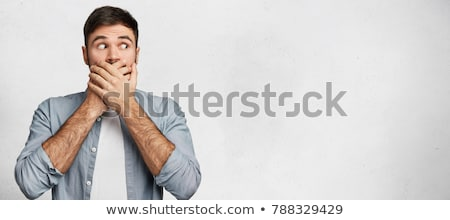 Not say gesture Stock photo © Aikon