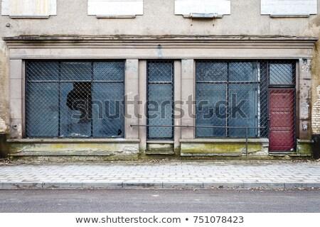 An Empty Abandoned Shop Front Сток-фото © Taigi