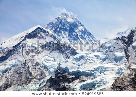 Everest üst dünya gökyüzü manzara Stok fotoğraf © Arsgera