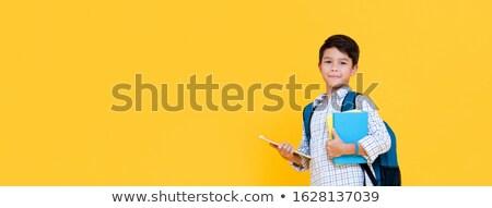 книгах · черно · белые · белый · школы · фон - Сток-фото © icefront