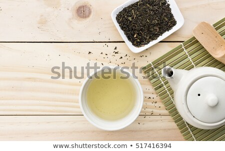Sugar cube with kettle inside Stock photo © ifeelstock