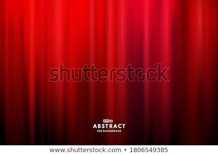közelkép · piros · szatén · szövet · absztrakt · háttér - stock fotó © pressmaster