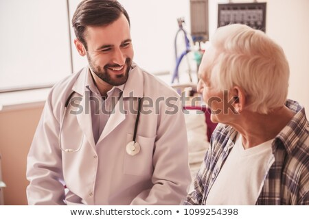 physical examination of an old man Stock photo © ichiosea