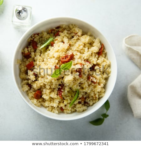 red pepper in bowl Stock photo © leungchopan