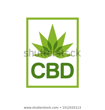Vector Illustration of Hemp Marijuana Leaf Stock photo © Akhilesh