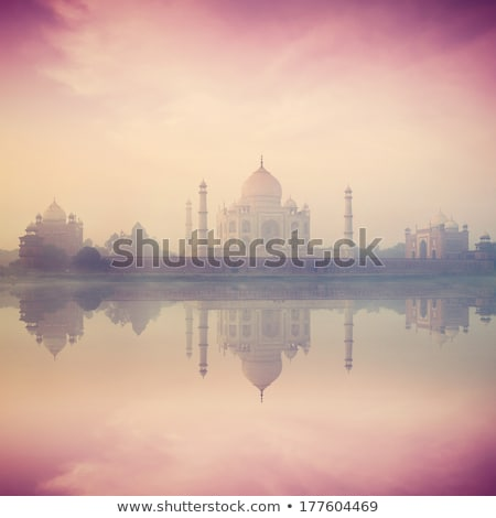 Taj Mahal - vintage retro style Stock photo © Mikko