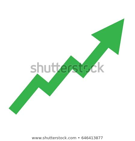 Stock Trading on Green Arrow. Stock photo © tashatuvango