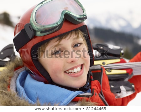 Pre-teen Boy On Ski Vacation Stock photo © monkey_business