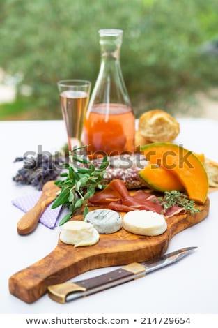 cheese- ham plate A la Provence  Stock photo © Dar1930