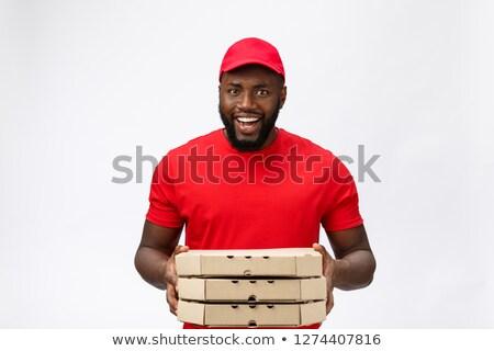 Greasy worker portrait Stock photo © aladin66