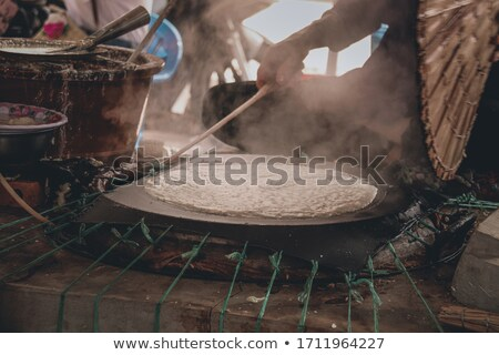 Rice Paper Manufacturing Stock photo © jeayesy