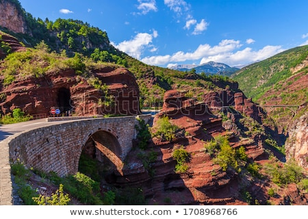 sandstone rock in the alps stock photo © ultrapro