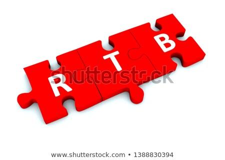 белый слово красный 3d визуализации интернет фон Сток-фото © tashatuvango