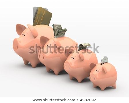 ストックフォト: 金融 · お金 · 金属 · 銀行 · 市場