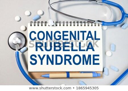 diagnosis   rubella medical concept stock photo © tashatuvango