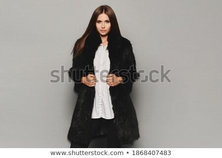 модный · выстрел · красивая · женщина · моде · модель · красоту - Сток-фото © konradbak