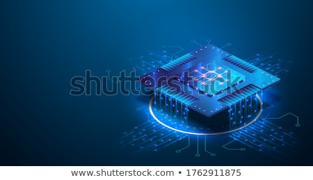 collection of microprocessors stock photo © tracer