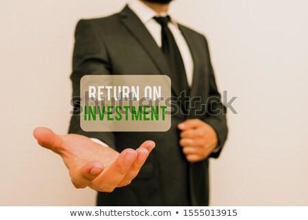 Increase Income Means Revenue Raise And Gain Stock photo © stuartmiles