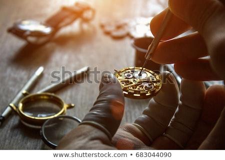 old watch repair stock photo © mikko