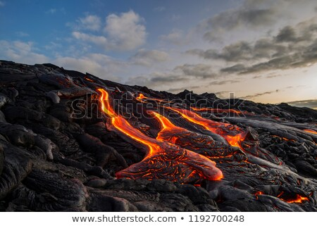 Lava flow Stock photo © AchimHB