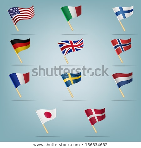 France and Finland Flags  Stock photo © Istanbul2009